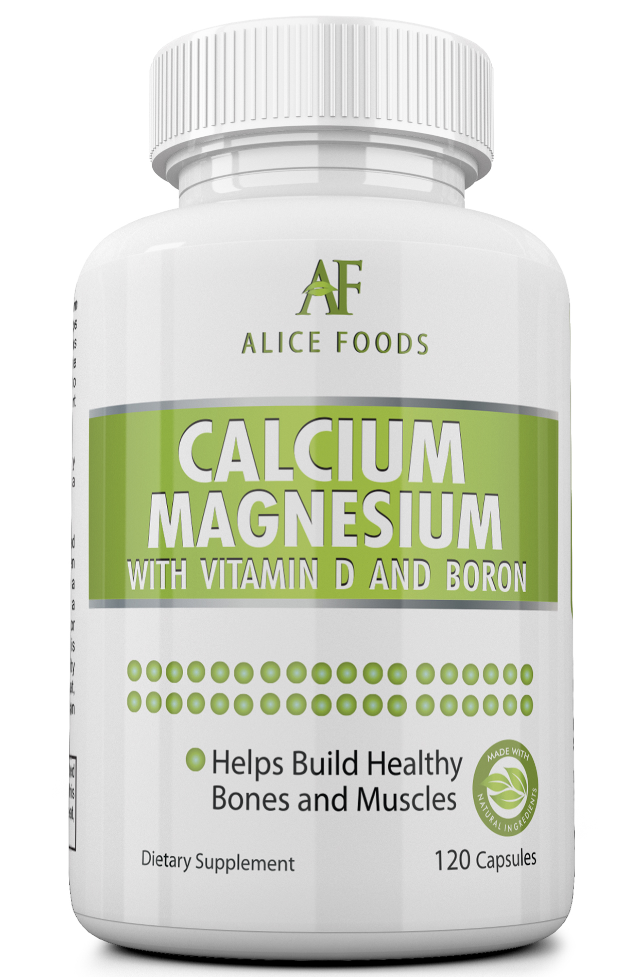 calcium magnesium vitamin d boron complex 30 days supply alice foods. Black Bedroom Furniture Sets. Home Design Ideas