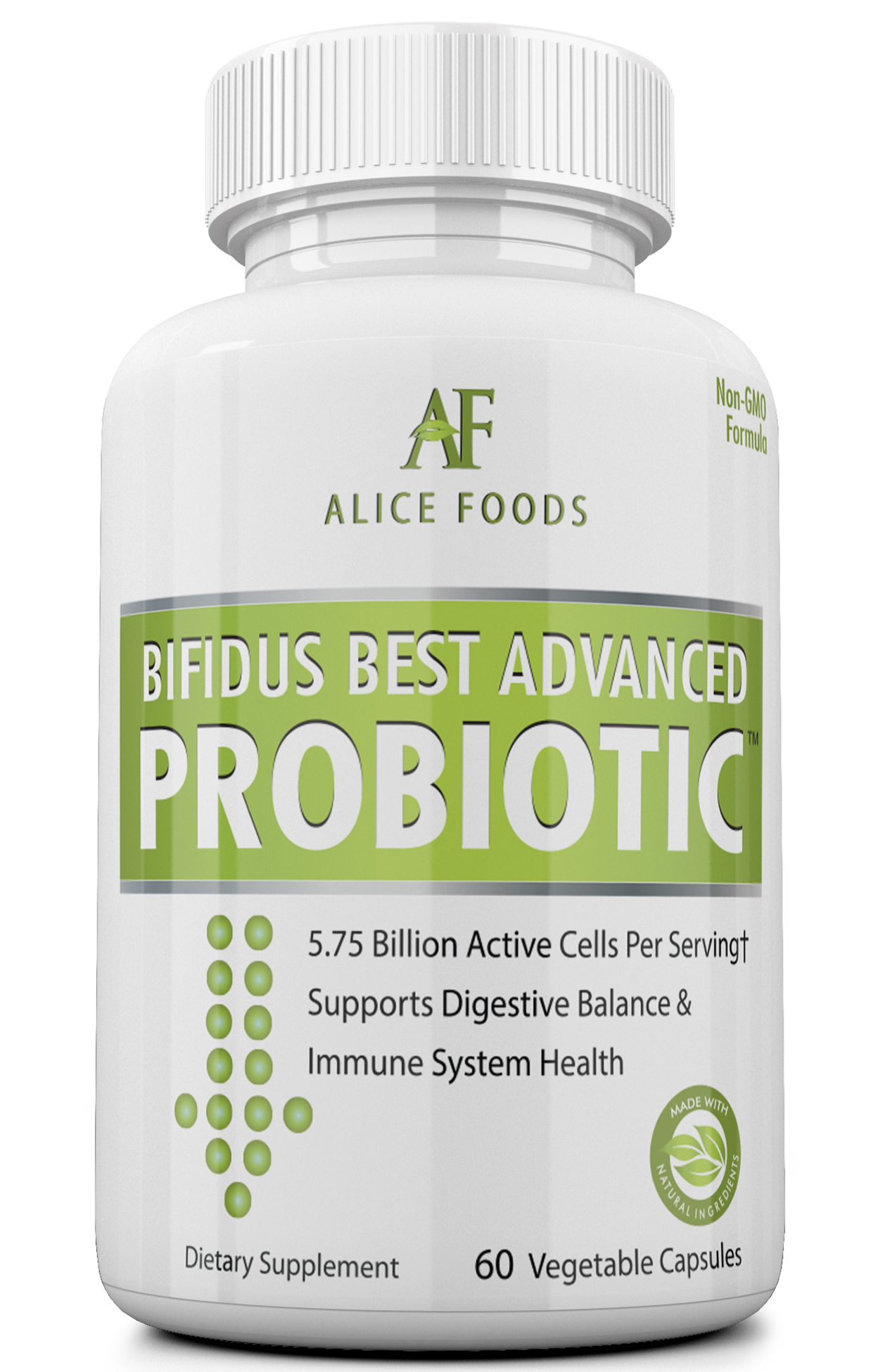 Bifidus Best Advanced Probiotic 30 Day Supply Alice Foods