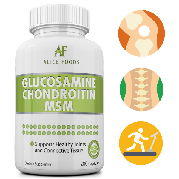 Alice Foods Glucosamine Chondroitin MSM Complex