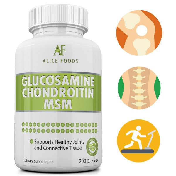 Alice Foods Glucosamine Chondroitin MSM Complex